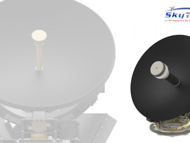 New Satellite Communication Antenna