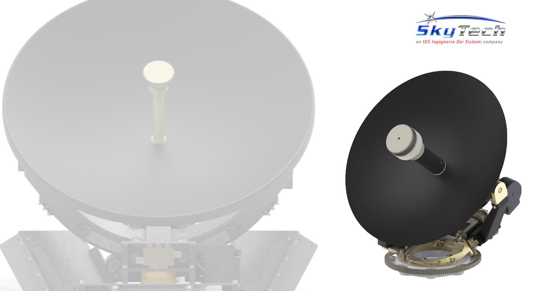 New Satellite Communication Antenna