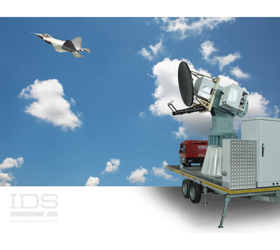 FARADRCS measurement system for flying aircraft in operational configuration.