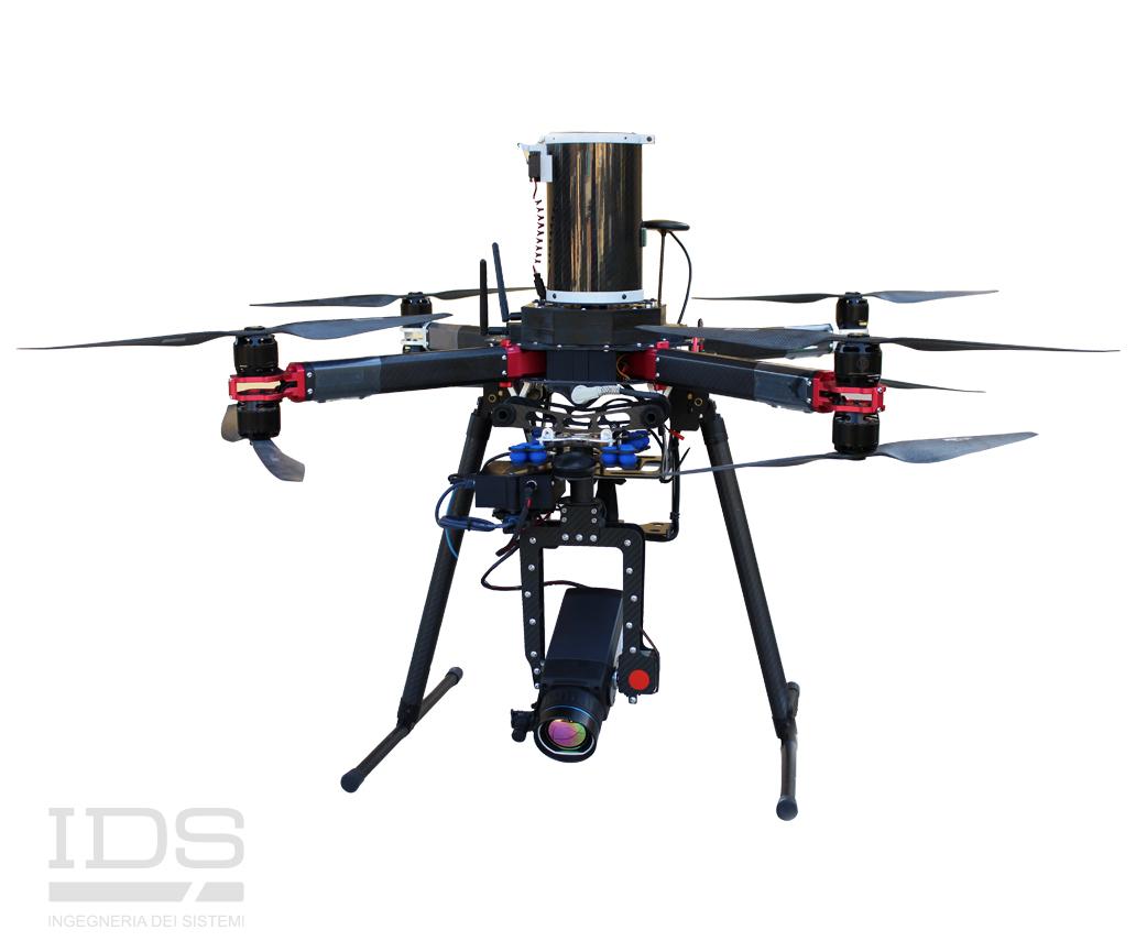 Bit Octocopter UAV