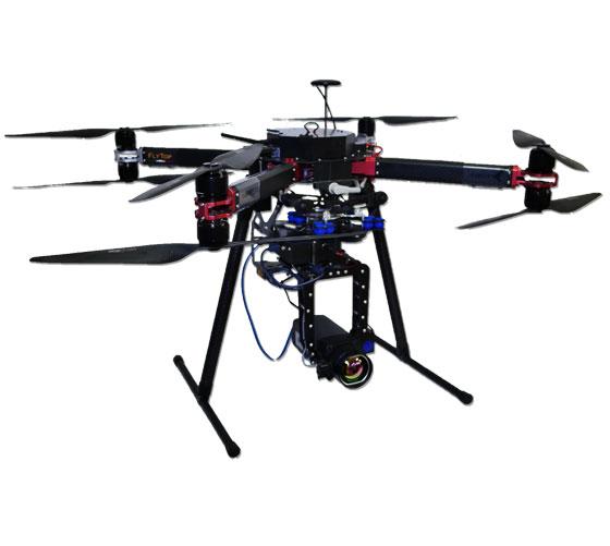 FlyBit Octocopter UAV