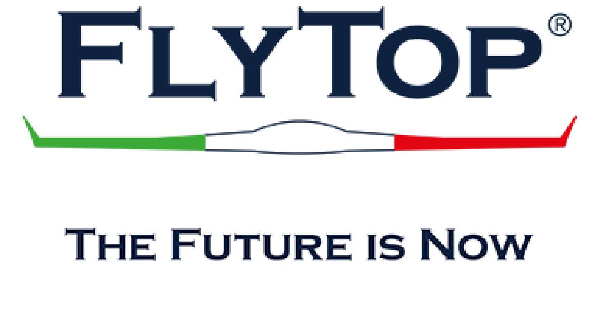 FlyTop Logo an IDS Ingegneria Dei Sistemi Company