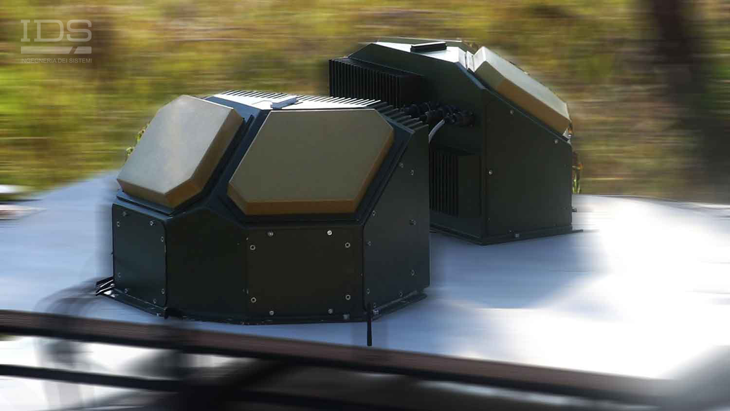 HFL-CM Mortar Detection Radar