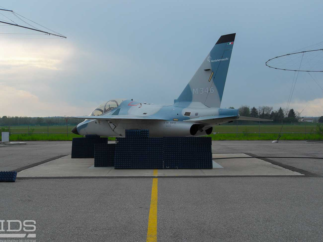 RCS Measurement of Aircraft