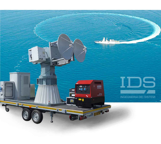 NADIR RadarFar-field System for Radar Imaging and RCS measurement of ships at sea