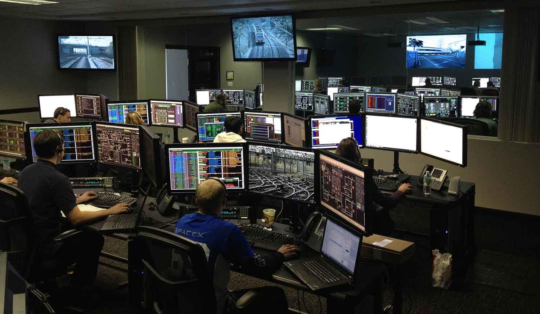Railway Control Network