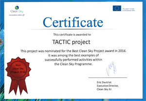 Certificate TACTIC Project