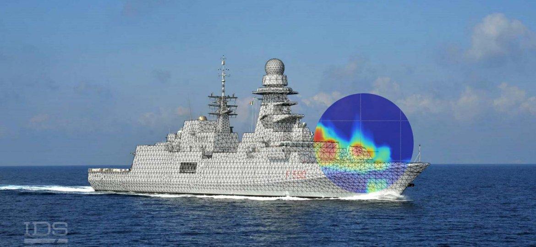 Ship EDF for Radar Cross Section