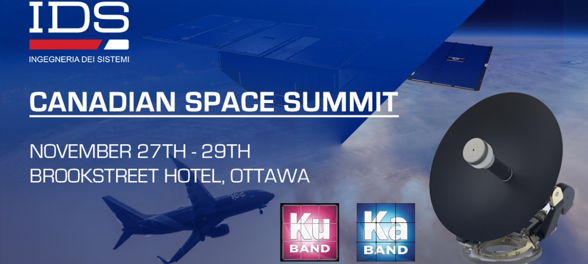 IDS AT 18TH ANNUAL CANADIAN SPACE SUMMIT - CSS 18
