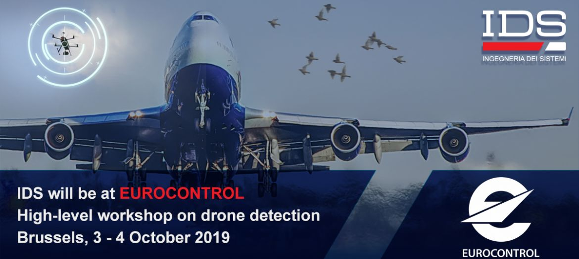 "IDS at EUROCONTROL ""High-level workshop on drone detection"""
