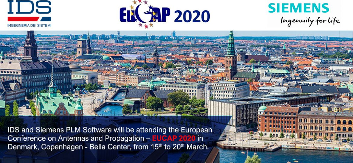 IDS -Siemens Digital Industries Software at EuCAP 2020, 15 - 20 March in Denmark - Cabassi
